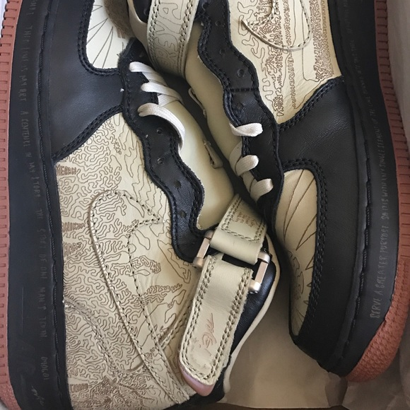 Nike Air Force 1 inside out mid's (Size 11.5) NWT